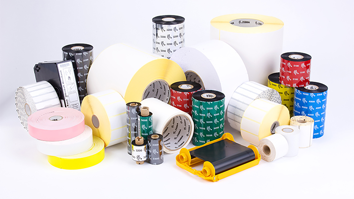 Zebra Barcode Labels and Supplies