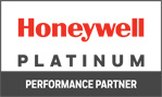 Honeywell Platinum Partner Certificate